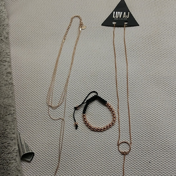 other Jewelry - Bundle of rosegold tone jewelry.